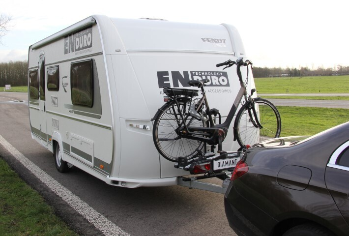 Caravan Hulpstuk voor Fietsendrager
