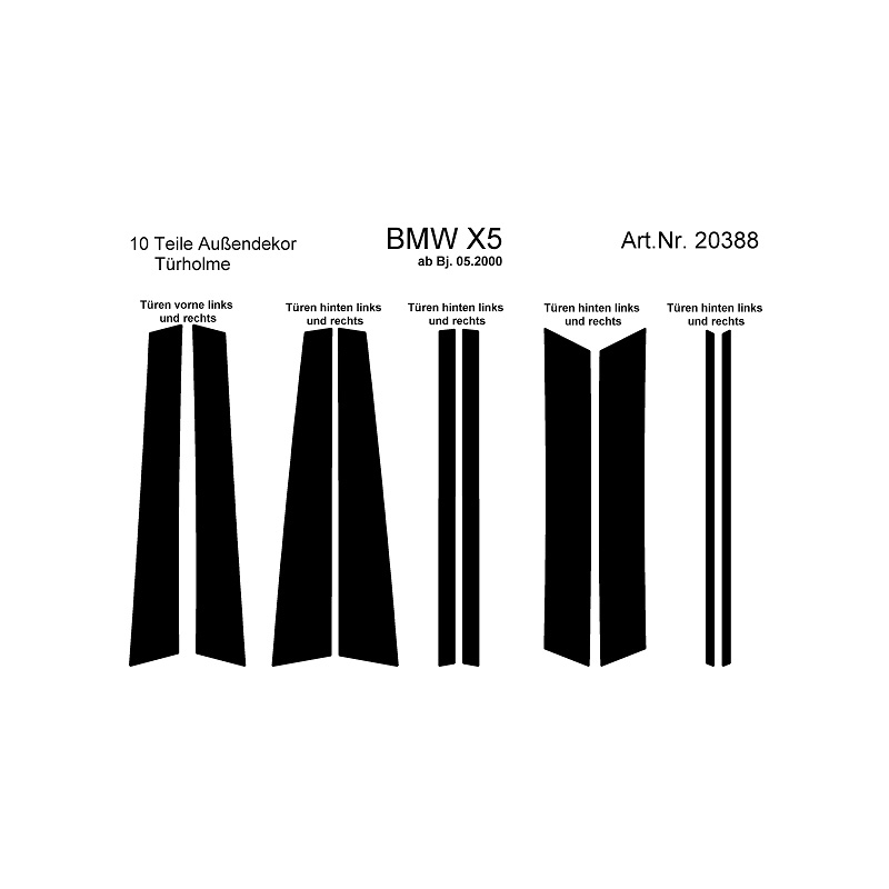 BMW X5 Interieurset online kopen bij Site4Cars