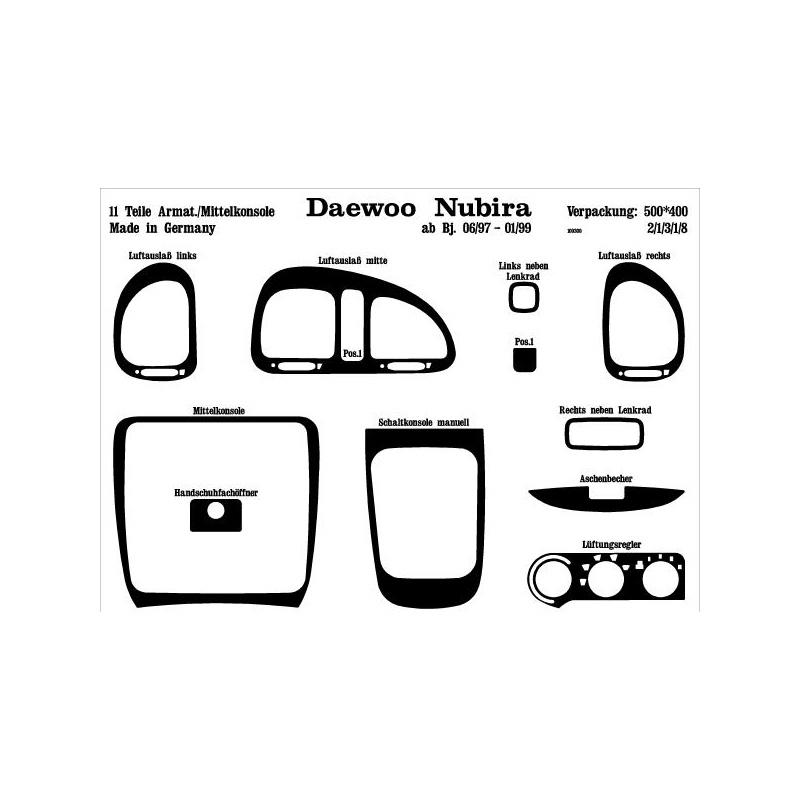 Daewoo Nubira Interieurset online kopen bij Site4Cars