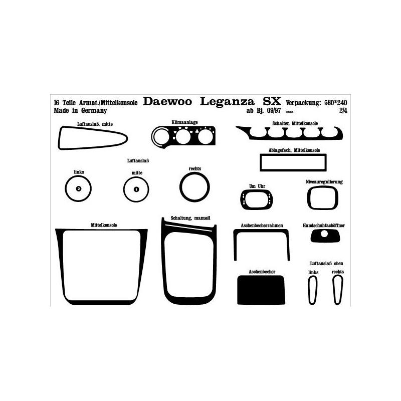 Daewoo Leganza Interieurset online kopen bij Site4Cars