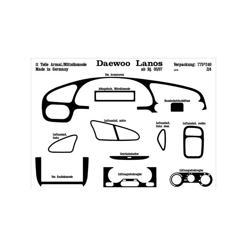 Daewoo Lanos Interieurset online kopen bij Site4Cars