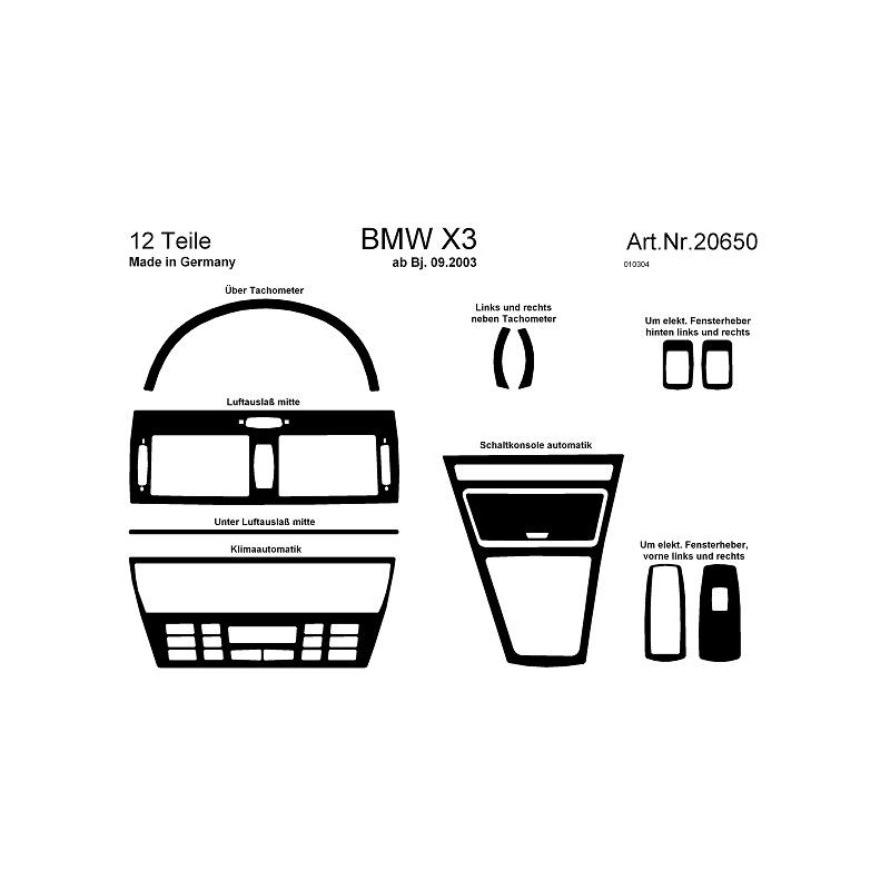 BMW X3 Interieurset online kopen bij Site4Cars